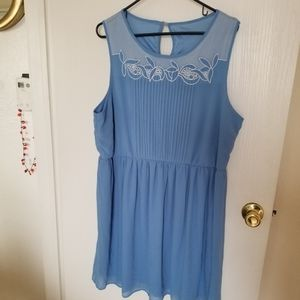 NEW MODCLOTH mini dress plus size 2X